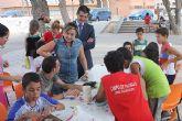 Visita a los alumnos del Campo de Trabajo Intercultural en Torre-Pacheco