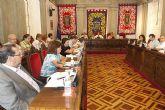 El pleno muestra su solidaridad con Burgos tras el atentado de ETA