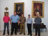 Cruz y Bernabé  inauguran la muestra de arte decimonónico y contemporáneo de la Casa del Piñón de La Unión