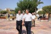 Finalizan las obras de remodelación del Jardín de la Providencia en Archena