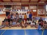 50 niños han participado durante el mes de julio en la Escuela Multideporte Adaptado 2009 de Molina de Segura