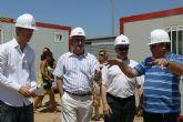 González Tovar visita las inversiones del Fondo Estatal de Inversión Local en el Centro de Artes Emergentes y del Centro de Ocio