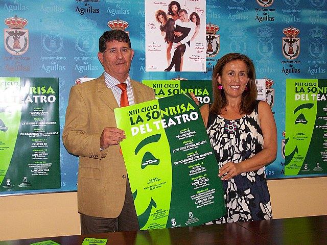 El próximo lunes arranca la XIII Edición del Ciclo de Teatro de Humor «La Sonrisa del Teatro» - 1, Foto 1