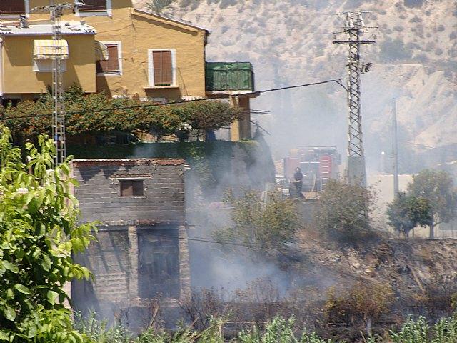Incendio en el Paraje de Candelón en Abarán - 2, Foto 2
