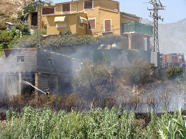 Incendio en el Paraje de Candelón en Abarán - 3, Foto 3