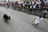 El encierro de vacas da el pistoletazo de salida a la Feria de San Zenón 2009