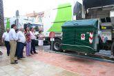 El Ayuntamiento estrena la nueva maquinaria de limpieza municipal