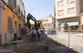 El Ayuntamiento inicia  las obras de adecuación y remodelación de la Plaza de la Iglesia