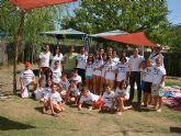 Los j�venes mazarroneros acampan en Nerpio