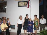 Puerto Lumbreras dedica una calle a la Maestra Teresa Navarro Salas