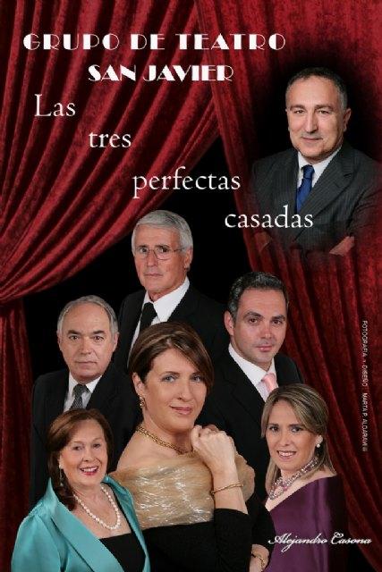 """El Grupo de Teatro San Javier estrena """"Las Tres Perfectas Casadas"""" de Casona - 2, Foto 2"""