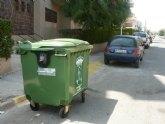 El ayuntamiento reduce el recibo de la basura en 3,06 euros