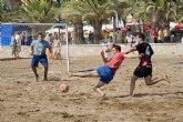 El equipo 'Coca-Cola' gana el torneo '24 horas Fútbol Playa'