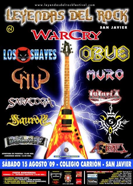 San Javier se convierte en el centro del rock este fin de semana con el IV Festival Leyendas del Rock - 1, Foto 1