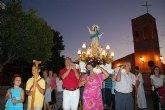 La pedanía torreña de Los Pulpites se echa a la calle para homenajear a su patrona