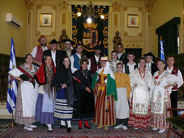 Diez grupos toman parte en el XXVIII Festival Nacional de Folklore Ciudad de Jumilla, Foto 1