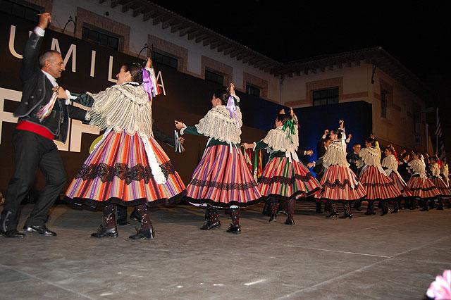 Diez grupos toman parte en el XXVIII Festival Nacional de Folklore Ciudad de Jumilla, Foto 4