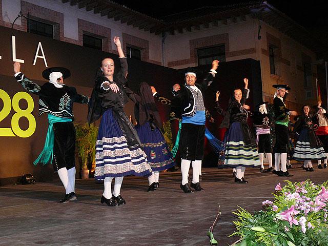 Diez grupos toman parte en el XXVIII Festival Nacional de Folklore Ciudad de Jumilla, Foto 5