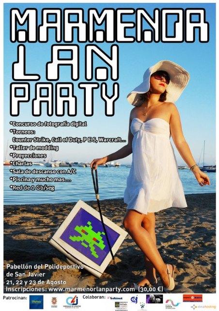 San Javier celebra su I Lan Party 09 los  días 21,22 y 23 de agosto - 1, Foto 1