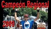 Michel Espinosa, campe�n regional de ciclismo