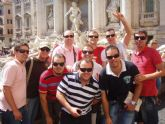 """La """"Tuna de Totana"""" viaja a Roma y regala serenatas a residentes y turistas"""