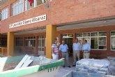 Puerto Lumbreras invierte más de 500.000 Euros en mejorar los Colegios del municipio durante el verano
