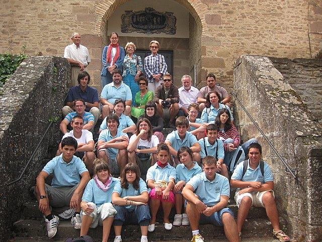 Un grupo de 15 jóvenes de San Javier han compartido campo de trabajo con jóvenes navarros en el pueblo de san Francisco Javier - 1, Foto 1