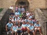 Un grupo de 15 jóvenes de San Javier han compartido campo de trabajo con jóvenes navarros en el pueblo de san Francisco Javier