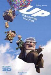 """La película """"Up. Una aventura de altura"""" de Walt Disney se proyectará durante todo el fin de semana"""