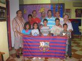 La Peña Barcelonista de Totana, solidaria con los niños saharauis