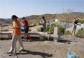 El Campo de Trabajo Internacional finaliza con la mejora de más de 18 Km de senderos en el Cabezo de la Jara