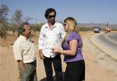 El director general de carreteras visita las obras de mejora de la D-4