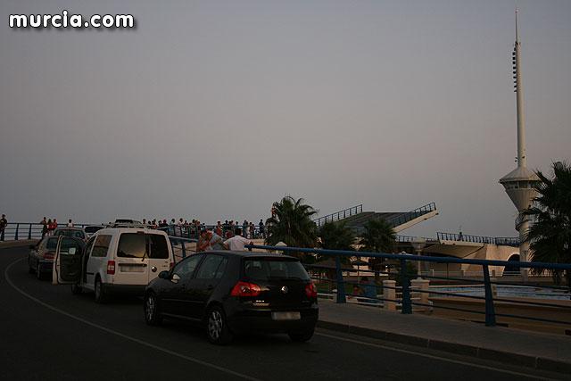 Un fallo informático paraliza el puente de El Estacio en La Manga durante hora y media - 1, Foto 1