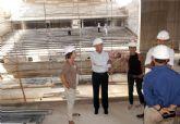 Valcárcel visita las obras del Auditorio y Palacio de Congresos Municipal de Cartagena