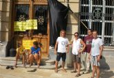 Clausuran de manera simbólica las oficinas de la autoridad portuaria de Cartagena