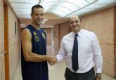 Xavi Sánchez entrenará con el primer equipo del CB Murcia