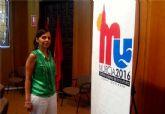 El Ayuntamiento presenta el logotipo de Murcia como ciudad candidata a Capital Europea de la Cultura 2016