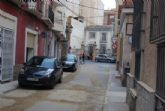 Concluir�n en unos d�as las obras de sustituci�n de aceras y servicios generales en la calle Antonio Garrigues