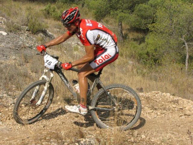 Pedro Antonio, del Club Ciclista Santa Eulalia, 4º senior en la I marcha MTB Villa de Pliego, Foto 1