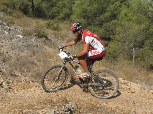 Pedro Antonio, del Club Ciclista Santa Eulalia, 4º senior en la I marcha MTB Villa de Pliego, Foto 2