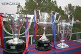 La Liga, la Copa y la �Champions� se exhiben por la Regi�n de Murcia