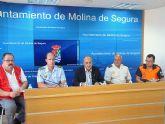 Más de 350 personas velarán por la seguridad y el buen desarrollo de las Fiestas Patronales de Molina de Segura 2009