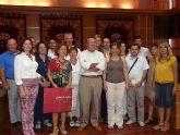 El Alcalde de Molina de Segura recibe a un grupo de profesores de Turquía, Alemania y Luxemburgo