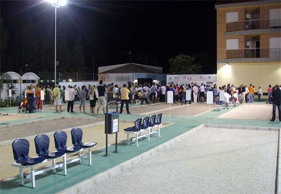 Inauguran las nuevas instalaciones del Club Muleño de Petanca - 1, Foto 1