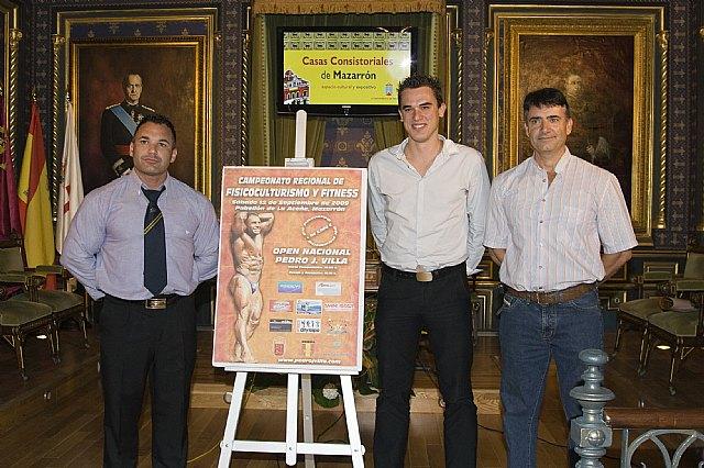 Mazarrón acoge este sábado el 'XXIII Campeonato de Físicoculturismo y Fitness' y el 'V Open Nacional Pedro J. Villa' - 1, Foto 1