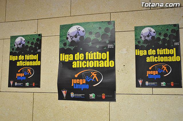 """La nueva temporada 2009-2010 de la Liga de Fútbol Aficionado """"Juega Limpio"""" abre su plazo de inscripción - 1"""
