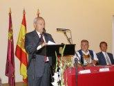 El alcalde asistió al Pregón Inaugural de las Fiestas de Moros y Cristianos de Murcia que lo ofreció  el traumatólogo y paisano Pedro Guillén