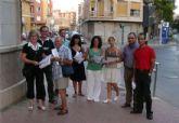 El PSOE se lanza a la calle para luchar contra la grave contaminación que sufre Alcantarilla