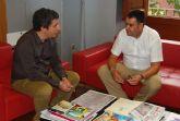 El alcalde y el consejero de Cultura, Turismo y Deportes establecen las l�neas maestras del plan de dinamizaci�n tur�stica del municipio