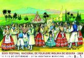 El Festival Nacional de Folclore de Molina de Segura celebra su vigésimo séptima edición el viernes 11 y sábado 12 de septiembre